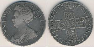 1 Krone Regno Unito  Argento