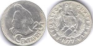 25 Centavo Guatemala