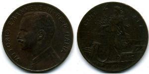 2 Centesimo Kingdom of Italy (1861-1946) Rame