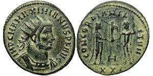 1 Antoninian Römische Kaiserzeit (27BC-395)  Maximianus (250-310)