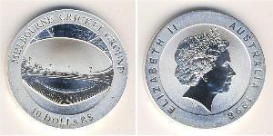 10 Dólar Australia (1939 - ) Plata