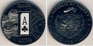 1 Dollaro Palau