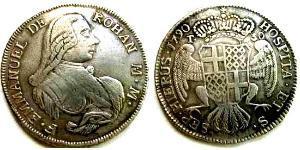 9 Tari Malteserorden (1080 - ) Silber