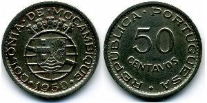 50 Centavo Mozambique