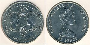 1 Krone Saint Helena (1981 - ) Copper/Nickel