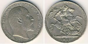 1 Krone United Kingdom Silver