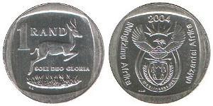 1 Rand Südafrika Kupfer/Nickel