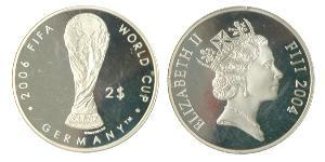 2 Долар Фіджі Срібло Єлизавета II (1926-)