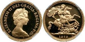 1 Sovereign United Kingdom (1922-) Gold Victoria (1819 - 1901)