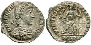 Siliqua Impero bizantino (330-1453) Argento Arcadio  (377-408)