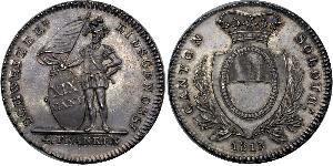 4 Franc Switzerland Argent