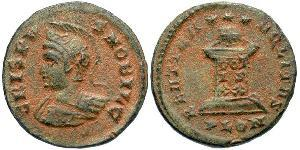 AE3 Empire romain (27BC-395) Bronze Crispus (305 - 326)