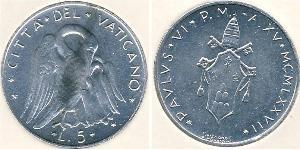 5 Lira Vaticano (1926-)