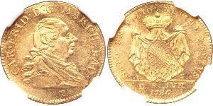1 Ducat Margrave of Baden-Durlach (1535 - 1771) Gold Charles Frederick, Grand Duke of Baden (1728 – 1811)