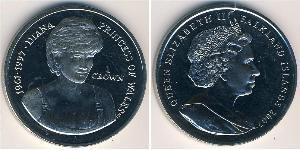 1 Krone Vereinigtes Königreich (1922-) Kupfer