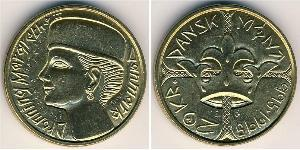 20 Krone Denmark Bronze/Aluminium