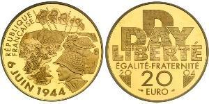 20 Franc Cinquième République (1958 - ) Or