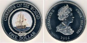 1 Доллар Острова Кука Медь/Никель