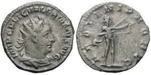 1 Antoninian Römische Kaiserzeit (27BC-395) Silber Valerian I (193-260)