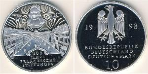10 Mark Germany Silver