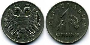 1 Shilling Federal State of Austria (1934-1938) Rame/Nichel
