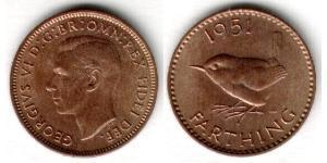 1 Farthing United Kingdom (1922-) Bronze George VI (1895-1952)