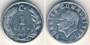 1 Lira Turchia (1923 - ) Alluminio
