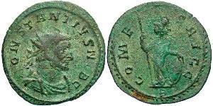 1 Antoninien Empire romain (27BC-395)  Constantin I (272 - 337)