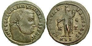 1 Follis Impero romano (27BC-395) Bronzo Galerio Massimiano (260-311)