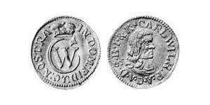1/2 Ducat Anhalt-Zerbst  (1544 - 1796) Or Charles-Guillaume d