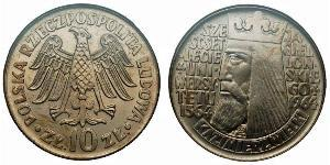 10 Zloty Volksrepublik Polen (1952-1990)
