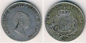 20 Kreuzer Germany Silver