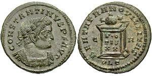 AE3 Empire romain (27BC-395) Bronze Constantin I (272 - 337)