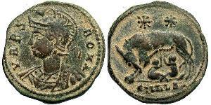 AE3 Impero romano (27BC-395) Bronzo Costantino I (272 - 337)