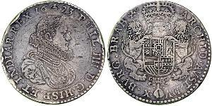 2 Ducaton Dutch Republic (1581 - 1795) Silver Philip IV of Spain (1605 -1665)