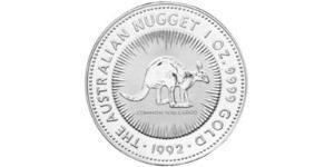 100 Dollar Australien (1939 - ) Gold Elizabeth II (1926-)