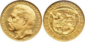 20 Mark Alemania Oro