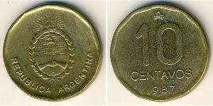 10 Centavo República Argentina (1861 - ) Latón