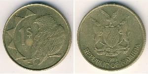 1 Dólar Namibia