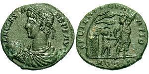 1 Centenionalis Impero romano (27BC-395) Bronzo Costante I (320-350)
