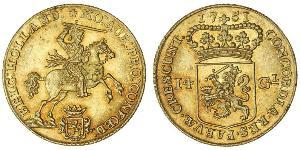 14 Gulden Kingdom of the Netherlands Gold