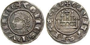 1 Dinar Kingdom of France (843-1791) Argent