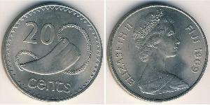 20 Cent Fiji Copper-Nickel