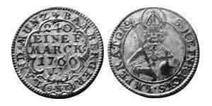 5 Kreuzer Prince-Bishopric of Bamberg (1245–1802) Billon