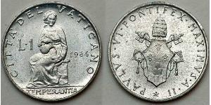1 Лира Ватикан (1926-)