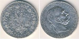 5 Krone Austria  Silver
