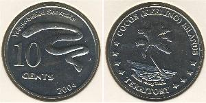 10 Cent Cocos (Keeling) Islands Copper/Nickel