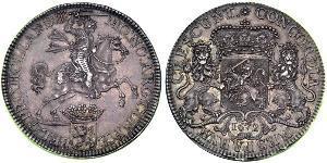 2 Ducaton Республика Соединённых провинций (1581 - 1795) Серебро