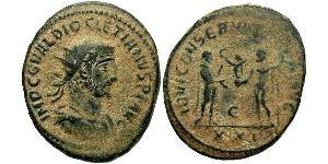 1 Antoninien Empire romain (27BC-395) Bronze Dioclétien (244-311)