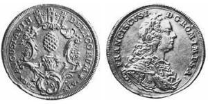 1/4 Thaler Augsburg (1276 - 1803) Silber Franz I. Stephan (HRR)(1708-1765)